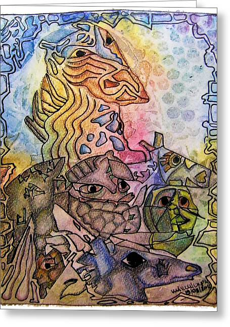 Subconscious Greeting Cards - Kritters Greeting Card by Mimulux patricia no