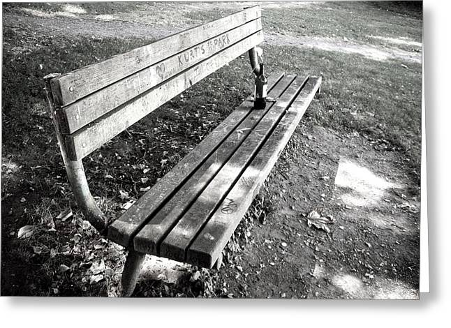 Exploited Greeting Cards - Kurts Park Greeting Card by Adamo  Tiseo