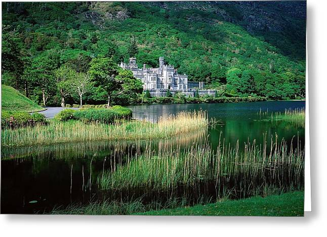 Kylemore Abbey, Co Galway, Ireland Greeting Card by The Irish Image Collection
