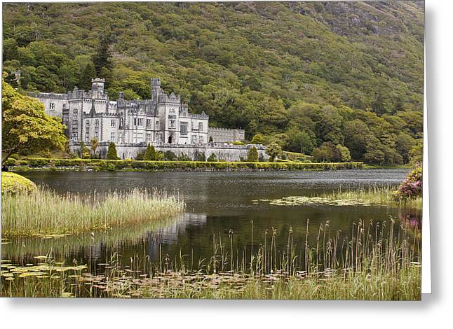 Ypres Greeting Cards - Kylemore Abbey Galway Greeting Card by Dave McManus