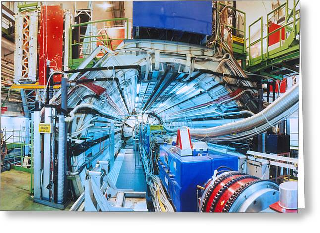 Particle Detector Greeting Cards - L3 Particle Detector At Cern Greeting Card by David Parker