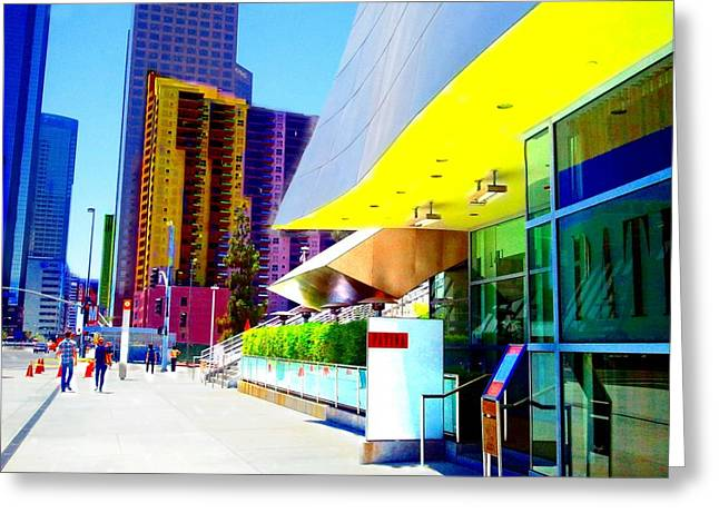 La Architecture Greeting Card by Rom Galicia