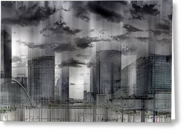 Europe Greeting Cards - La Defense PARIS Greeting Card by Melanie Viola