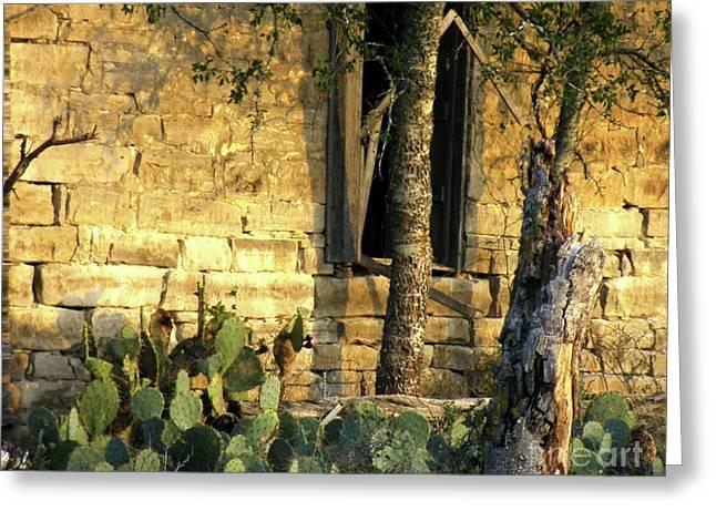Frame House Photographs Greeting Cards - La Hacienda Greeting Card by Joe Jake Pratt