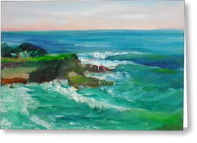 Recently Sold -  - Jeremy Greeting Cards - La Jolla Cove 032 Greeting Card by Jeremy McKay
