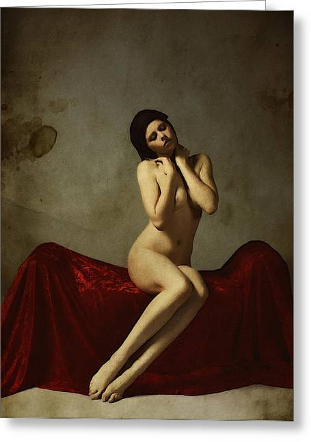Classical Art Greeting Cards - La Musa non Colpevole aka The Innocent Muse Greeting Card by Cinema Photography