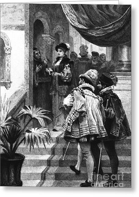 Cleves Greeting Cards - La Princesse De ClÈves Greeting Card by Granger