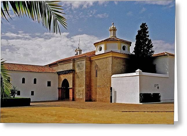 Kloster Greeting Cards - La Rabida Monastery - Huelva Greeting Card by Juergen Weiss