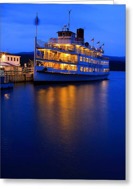 Sacrament Greeting Cards - Lac Du St. Sacrement Greeting Card by Jeff Bord