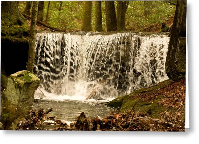 Lacy Greeting Cards - Lacy Waterfall Greeting Card by Douglas Barnett