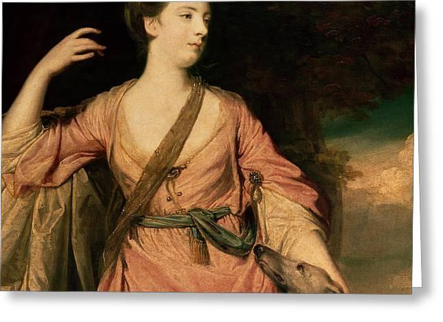 Lady Dawson Greeting Card by Sir Joshua Reynolds