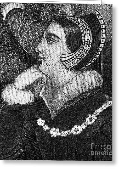 Duchess Greeting Cards - Lady Frances Brandon Greeting Card by Granger