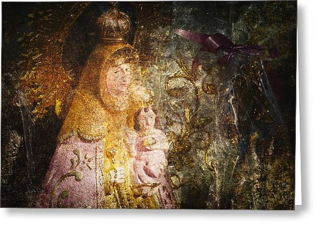 Baby Jesus Greeting Cards - Lady Greeting Card by Skip Nall