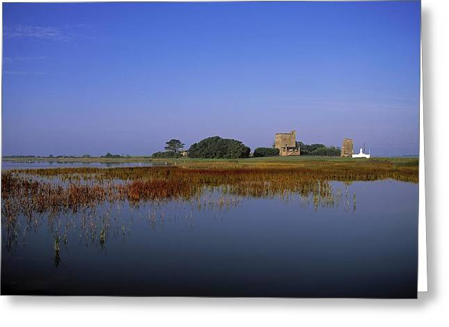 Ladys Island Greeting Cards - Ladys Island, Co Wexford, Ireland Site Greeting Card by The Irish Image Collection