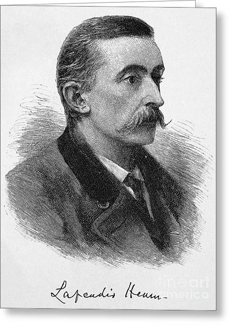 Autograph Greeting Cards - Lafcadio Hearn (1850-1904) Greeting Card by Granger