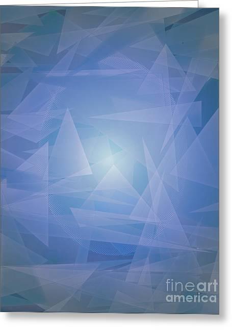 Michelle Bergersen Greeting Cards - Lagoon Depth and Light Greeting Card by Michelle Bergersen