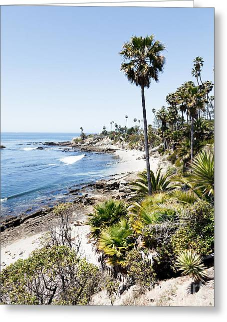 Beach Scenery Greeting Cards - Laguna Beach California Heisler Park Greeting Card by Paul Velgos