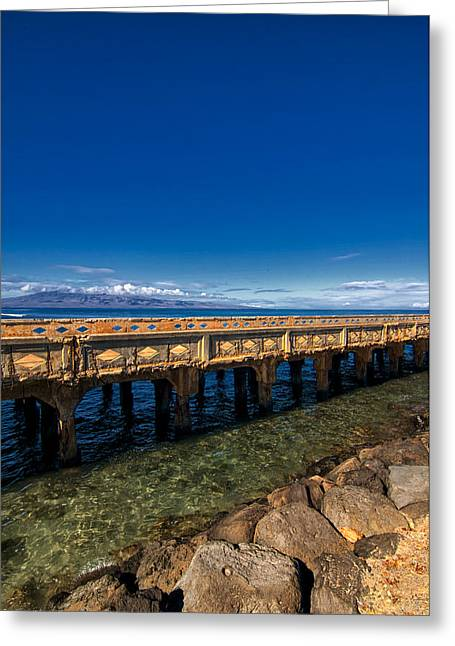 Lahaina Greeting Cards - Lahaina Maui Beauty Greeting Card by Brent Schlea
