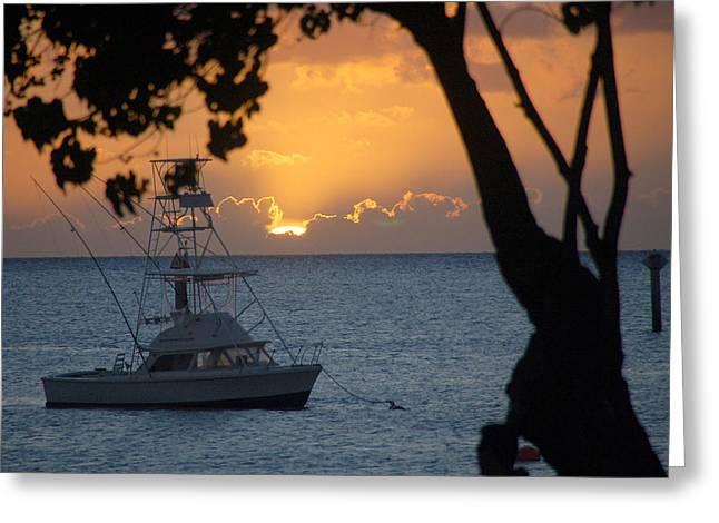 Lahaina Greeting Cards - Lahaina Sunset Greeting Card by Wayne Sheeler