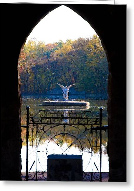 Lake Angel Greeting Card by Bill Cannon