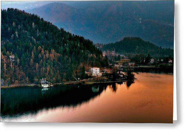 Bled Greeting Cards - Lake Bled. Slovenia Greeting Card by Juan Carlos Ferro Duque