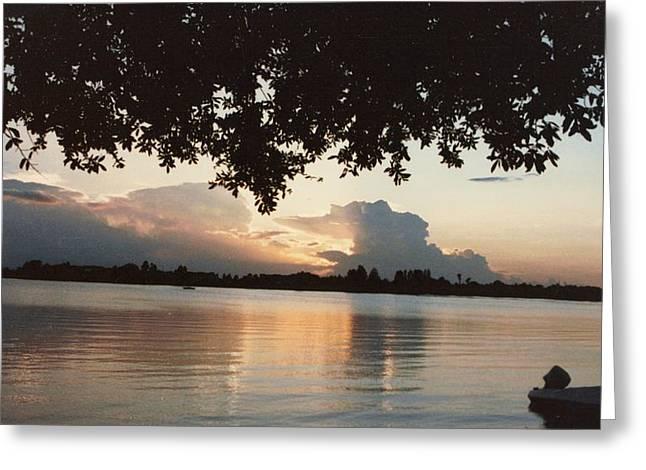 Pat Mchale Greeting Cards - Lake Buchanan Greeting Card by Pat Mchale