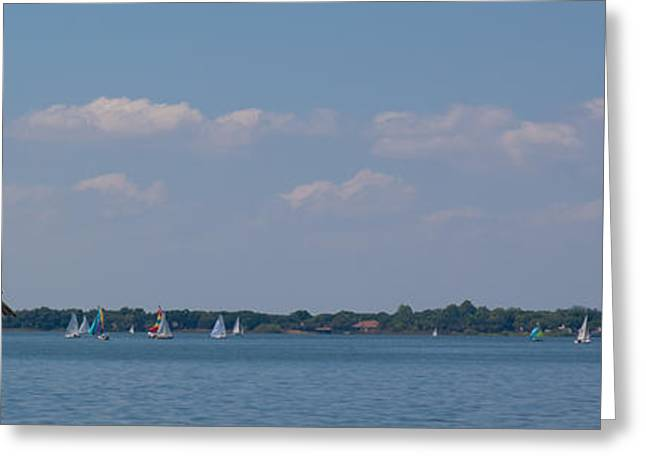 Sailboat Photos Greeting Cards - Lake Dora Afternoon Greeting Card by Kathi Shotwell