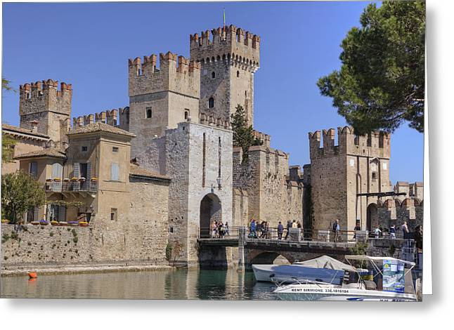 Northern Italy Greeting Cards - Lake Maggiore Sirmione Greeting Card by Joana Kruse