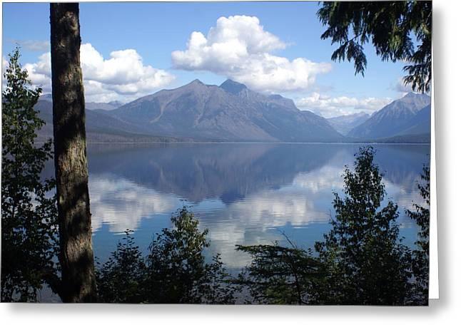 Marty Koch Greeting Cards - Lake McDonald Glacier National Park Greeting Card by Marty Koch