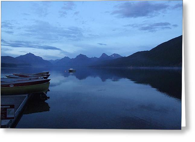 Lake Mcdonald Greeting Cards - Lake McDonald Greeting Card by Marie-Claire Dole