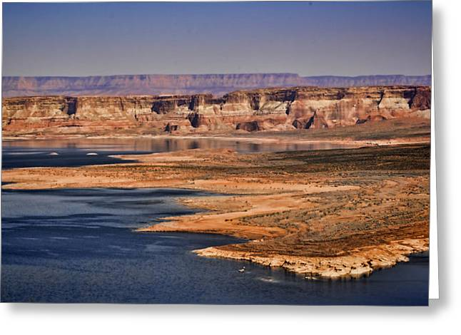 Kane Greeting Cards - Lake Powell Greeting Card by Heather Applegate