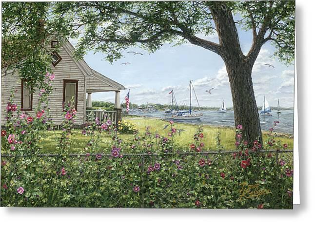 Lake Somewhere Greeting Card by Doug Kreuger