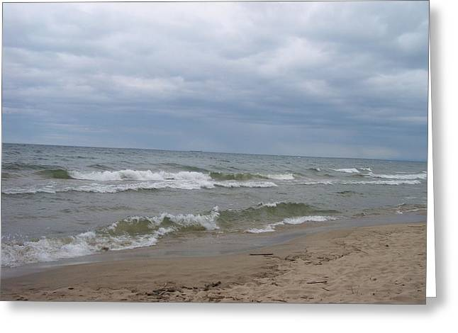 Beach Photography Greeting Cards - Lake Superior Beach 1 Greeting Card by Karen King