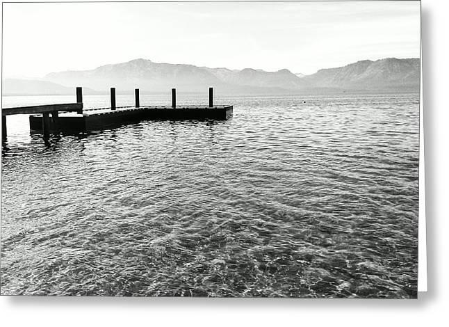 South Lake Tahoe Greeting Cards - Lake Tahoe - Pier of Dreams Greeting Card by Brad Scott