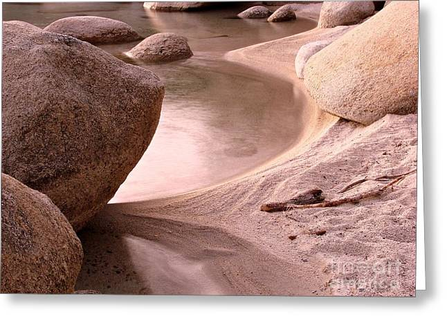 Incline Photographs Greeting Cards - Lake Tahoe Calmness Greeting Card by Scott McGuire