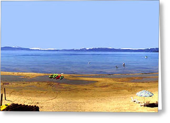 Rare Greeting Cards - Lake Tahoe  Greeting Card by The Kepharts