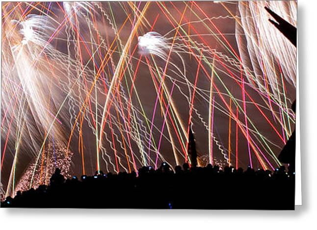 Lake Union July 4th PB003 Greeting Card by Yoshiki Nakamura
