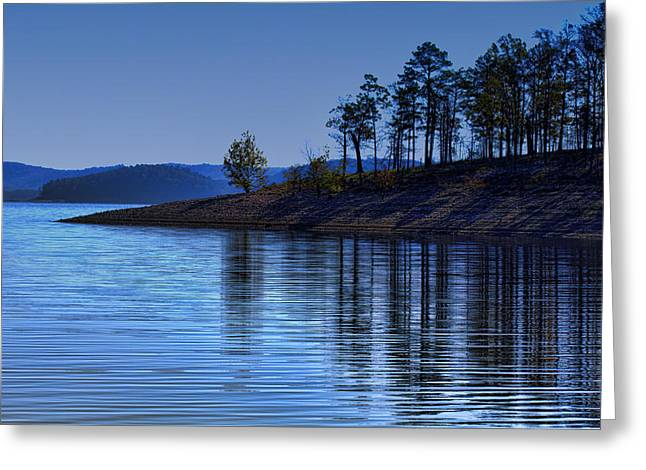 Lakeside Greeting Cards - Lakeside-Beavers Bend Oklahoma Greeting Card by Douglas Barnard