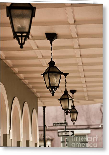 Ledaphotography.com Greeting Cards - Lamps Greeting Card by Leslie Leda