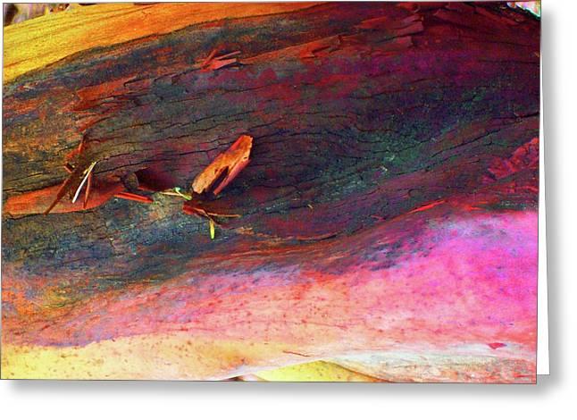 Greeting Card featuring the digital art Landing by Richard Laeton