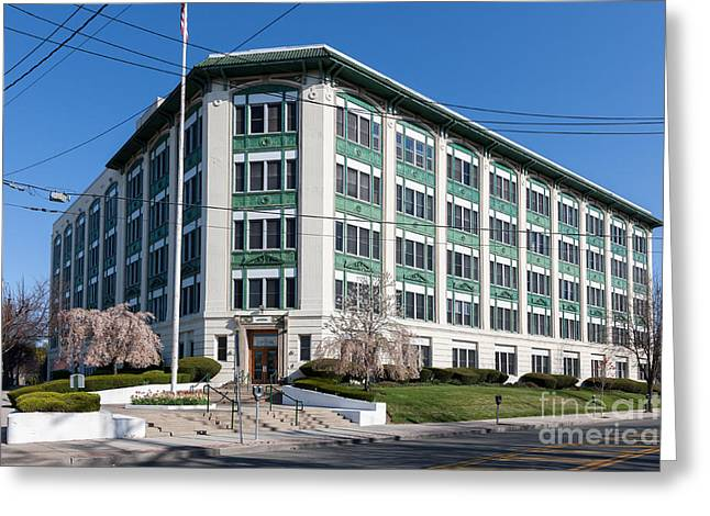 Enterprise Photographs Greeting Cards - Landmark Life Savers Building I Greeting Card by Clarence Holmes