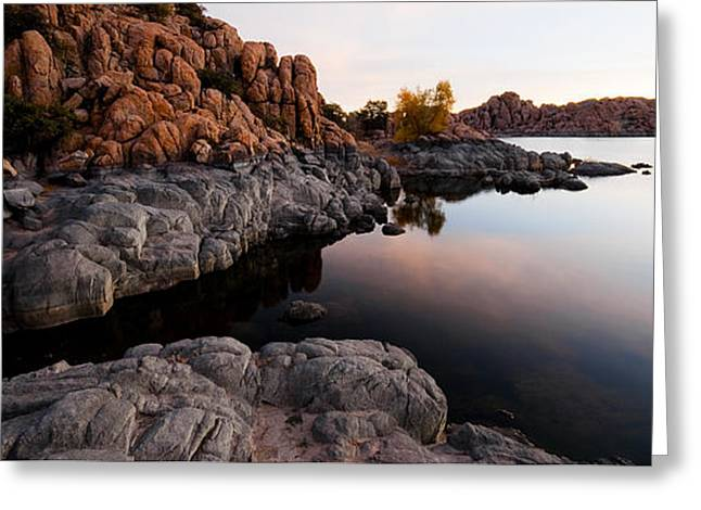 Granite Dells Greeting Cards - Lands End Greeting Card by Michael Smith-Sardior