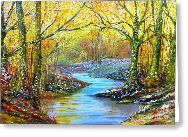 B Russo Greeting Cards - Landscape Greeting Card by B Russo