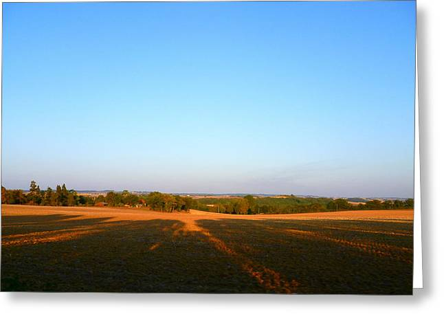 Best Sellers -  - South West France Greeting Cards - Landscape near Mauvezin Greeting Card by Sandrine Pelissier