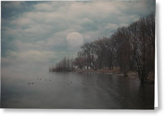 Wintry Greeting Cards - Landscape Of Dreams Greeting Card by Joana Kruse