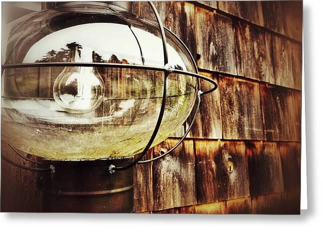 Lantern Greeting Card by Olivier Calas