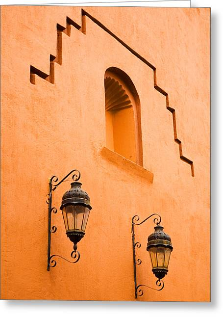 Mexico City Greeting Cards - Lanterns Greeting Card by Eggers   Photography