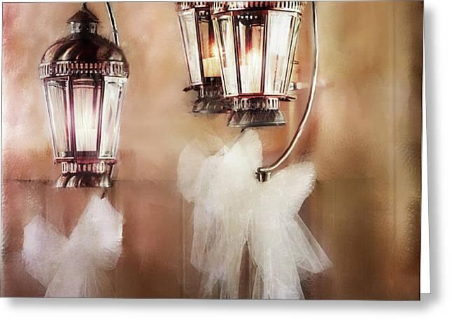 Lanterns Greeting Card by Stephanie Frey