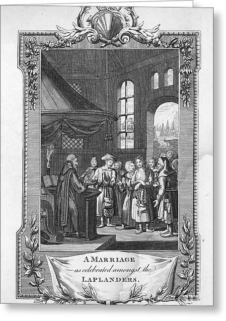 Mrs. Richard Greeting Cards - Lapland: Wedding Greeting Card by Granger