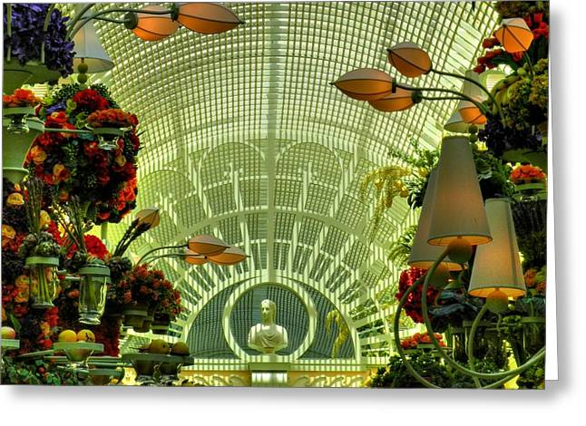 The Buffet Greeting Cards - Las Vegas 044 Greeting Card by Lance Vaughn